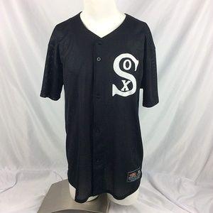 Vintage Easton White Sox Baseball Jersey Mesh